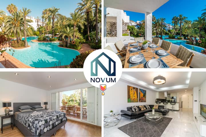 ✰Luxurious Beachside In The Heart Of Puente Romano