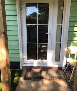 This is the front door porch