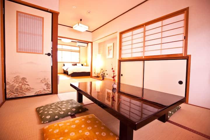 宿屋七福ねこ☆二条駅から4分の京町家!