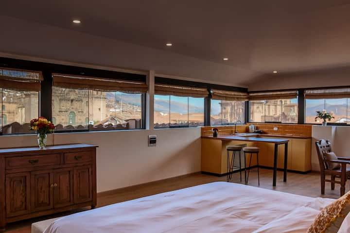 Lindo loft con vista a la Plaza  de Armas - 301