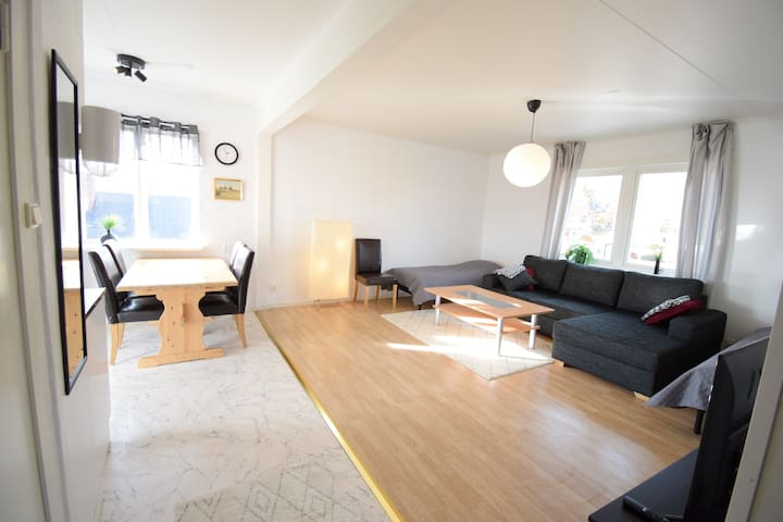 (6) Big apartment in central Kiruna
