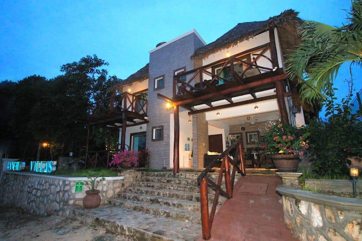 Hotel Pancho Villas Bacalar Habitación Pez