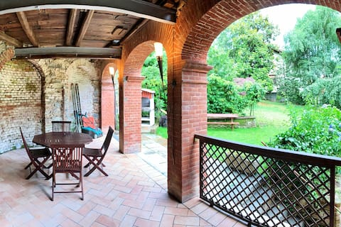 Appartamento in villa con parco a Sordevolo