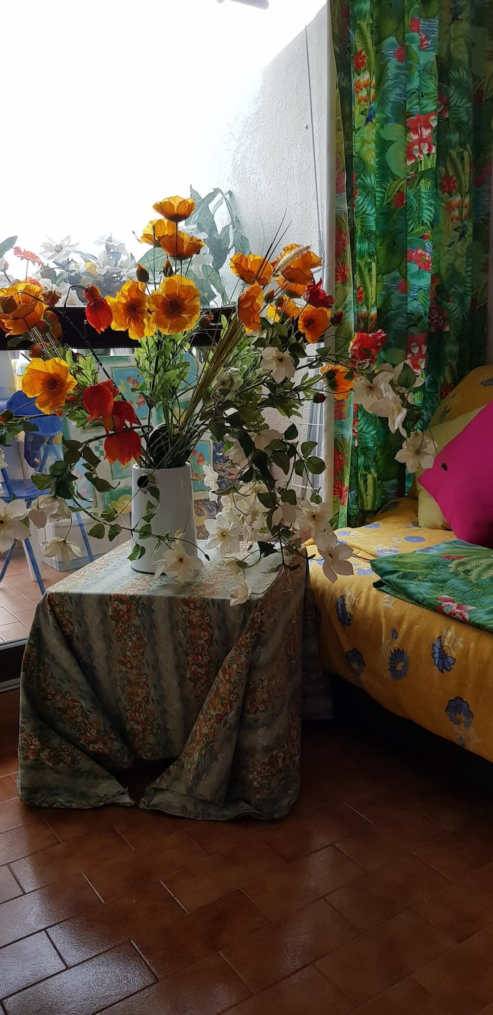 Mon Studio Fleuri Tout en Couleur
