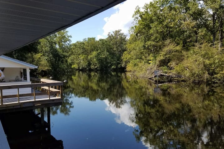 River Rise Cottage on the scenic Aucilla River