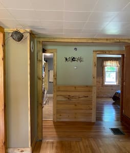 Entrance way to bathroom and bedrooms