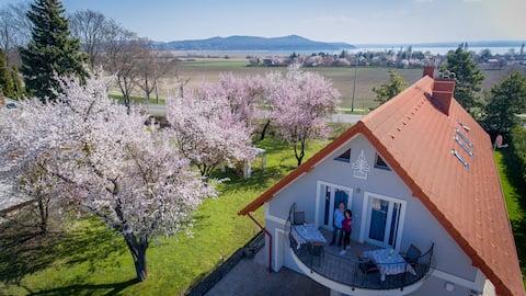 Modern vendégszoba közös terasszal a vízimalomra 2