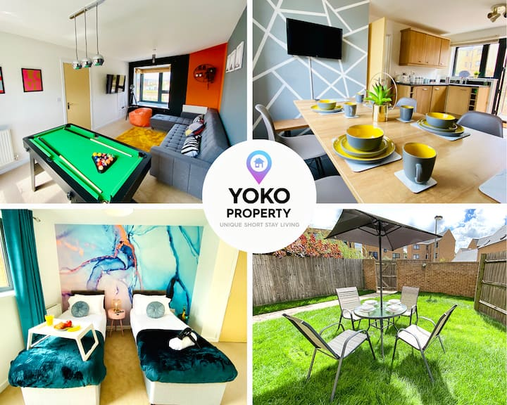 🌟Urban House with Free Netflix🍿 Pool🎱 Parking🚗🌟