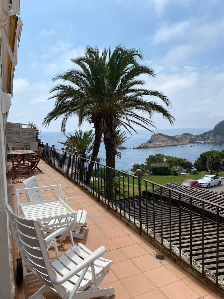 Cap Sa Sal 154 Un apartamento con vistas en Begur