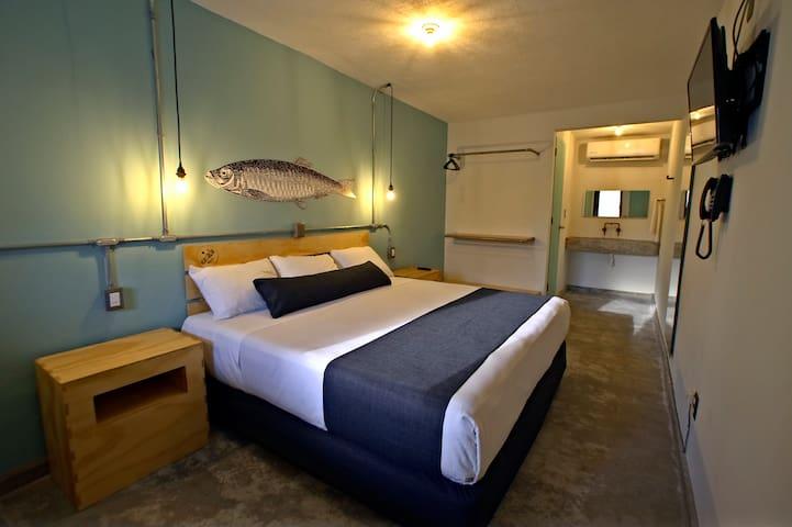Hotel +Básico con diseño urbano y playero