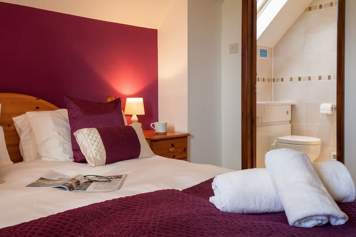Bedroom 1 with en-suite.