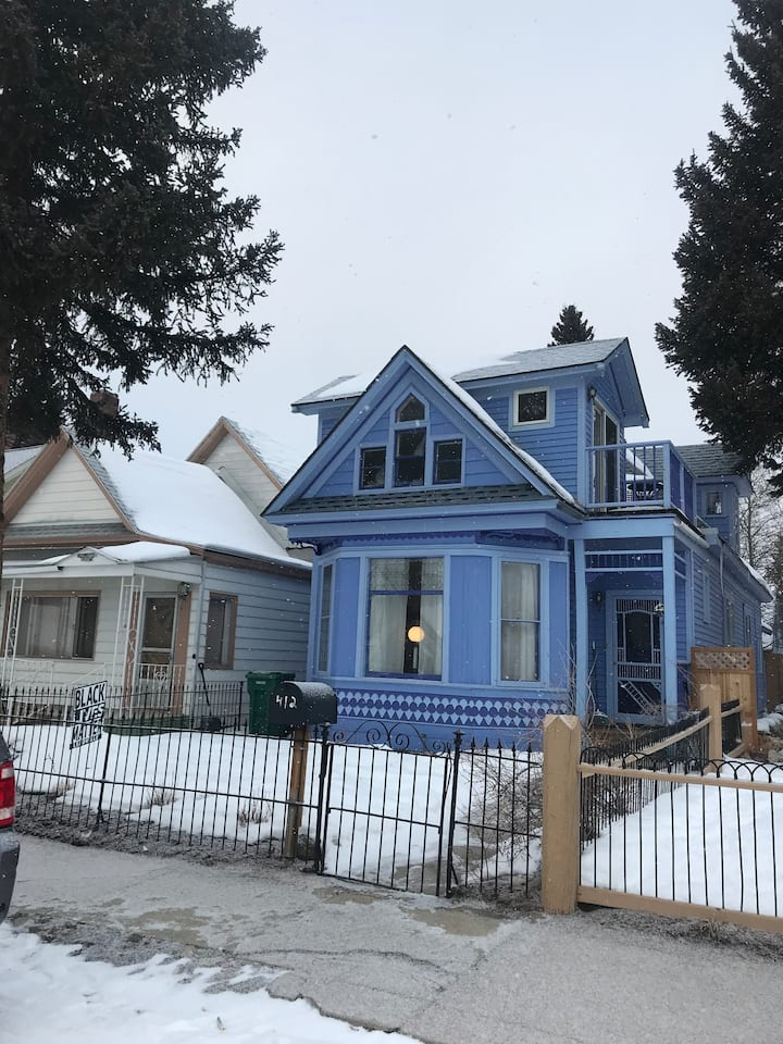 Sunny Victorian w/ modern feel, stove and jet tub!