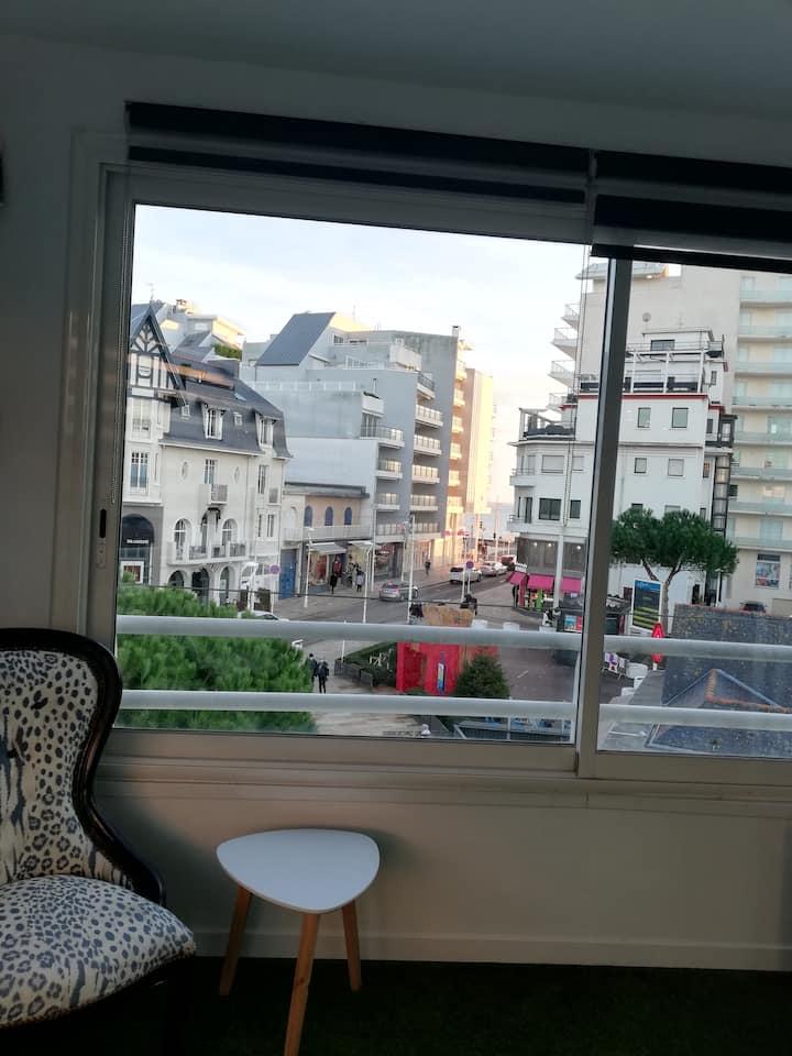 appart 2 chambres, parfait état, avenue de Gaulle