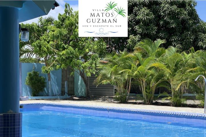 Casa entera Villa Matos Guzmán. Piscina/Pool.