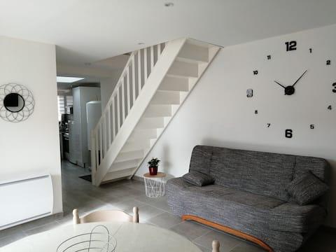 Gilly sur Loire : maison calme entièrement rénovée