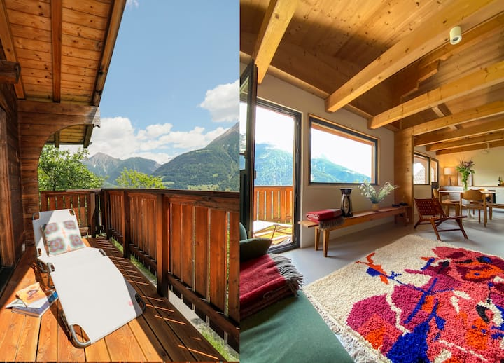 Hideaway Chalet Faazihaus in ruhiger Panoramalage