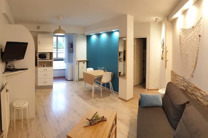 Cosy appartement centre ville + parking privé