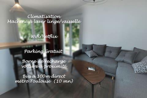 Daire 40 m2 sessiz ve konforlu