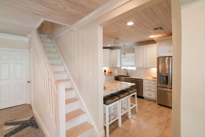 stairs leading to loft bedroom