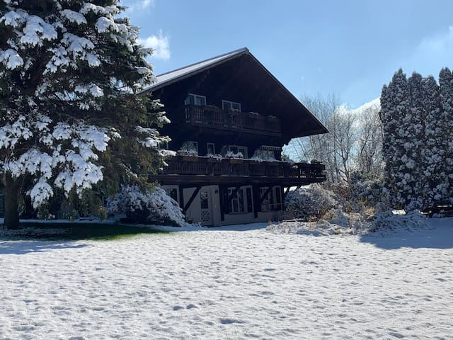 Authentic Swiss Chalet in the Country