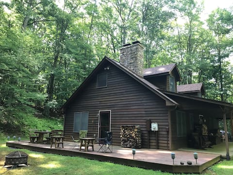 A private, peaceful cabin in Highland Co. VA