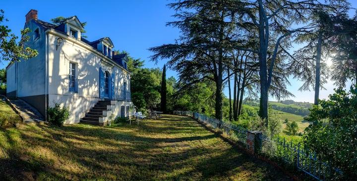 Rochefort sur Loire maison au cœur des vignes