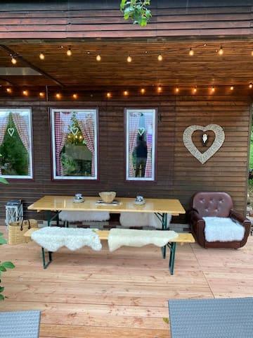 Hütte für Individualisten und Naturliebhaber