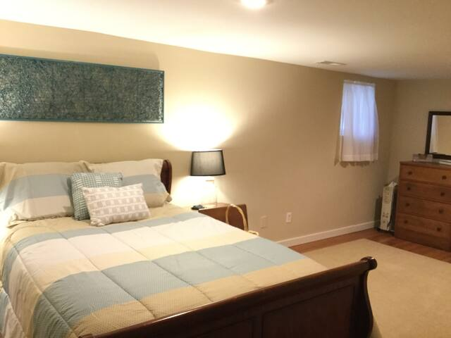Bedroom with standard double bed