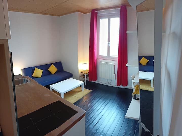 Studio T1bis calme - quartier Perrache-Confluence