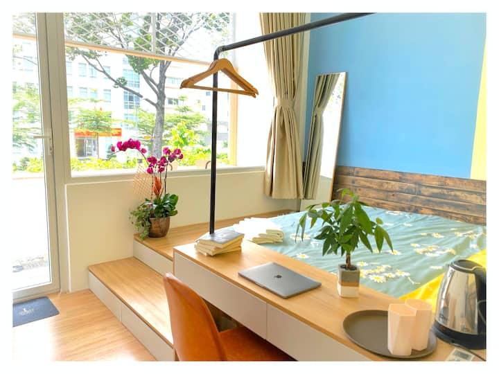 Nha Cafe & Homestay Room 1 - Coffee lover home