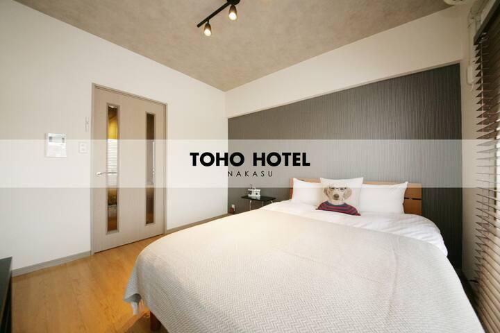 [Toho Hotel Nakasu] Standard room 1 double bed 10F