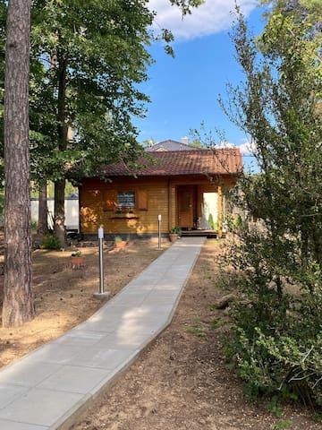 Haus Clemens - Gemütliche Holzhütte mit Grundstück