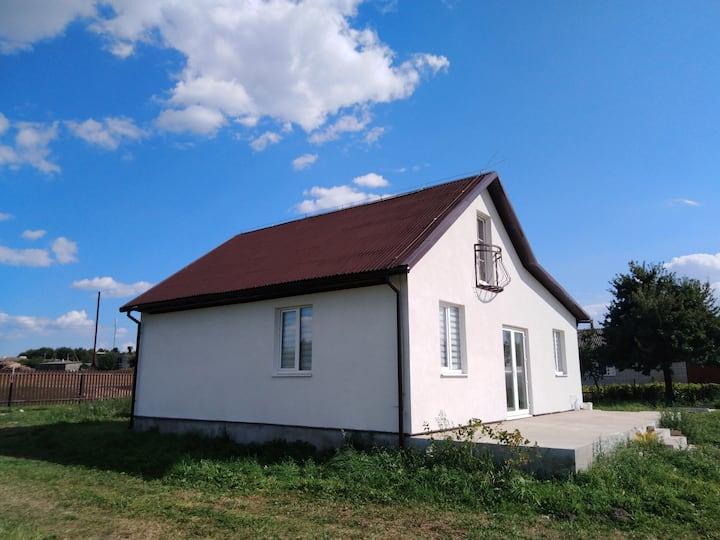 Совершенно новый дом 45 мин от Минска