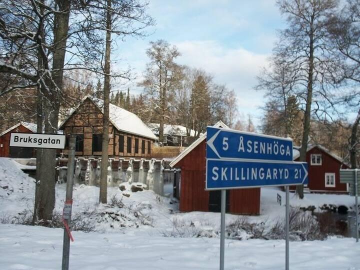 Lägenhet i Småland nära natur