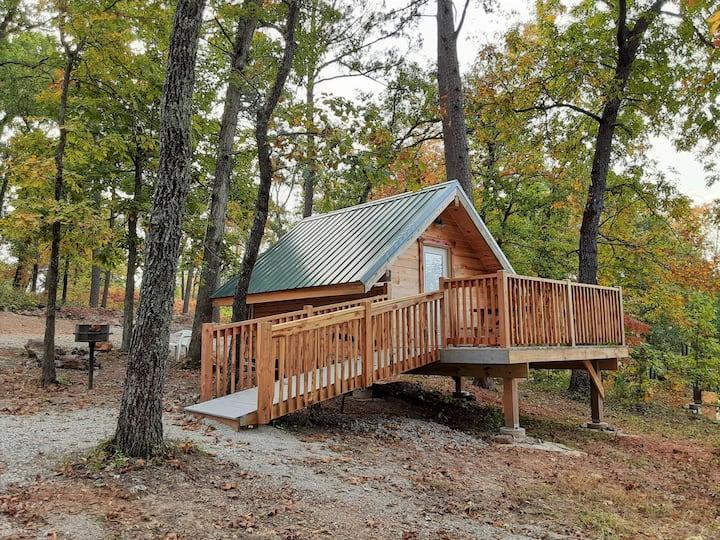 Oakdale Primitive Cabin (1 )@Spring Lake Ranch