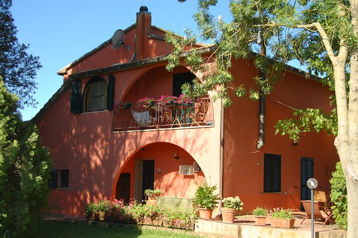 Apartment with privat pool in Toscany