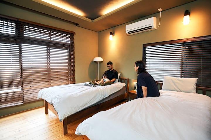 Goto対象!柳川観光に最適の戸建てデザインリフォーム貸し切りの宿!新鮮有明海の幸も堪能できます!