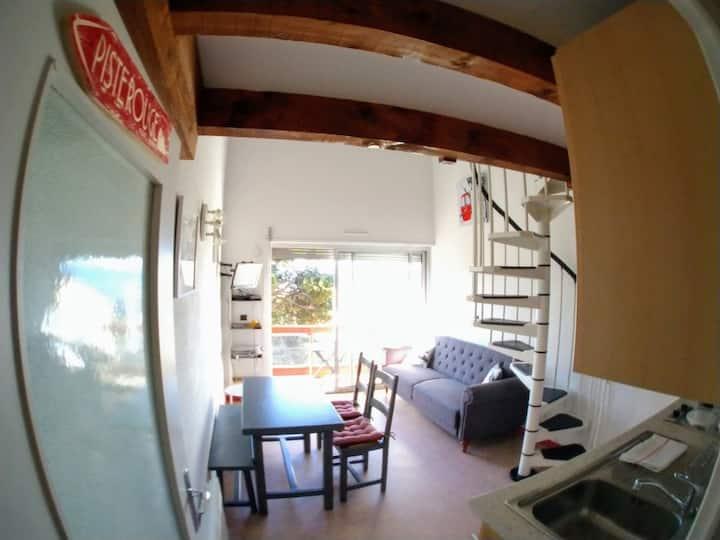 Font-Romeu T2 duplex avec vue. Garage et WIFI.