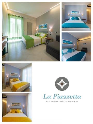 New Room B&B La Piazzetta in the center of Ischia