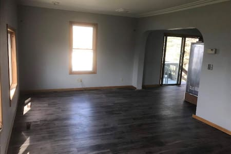 """Both doors to house are at least 36""""... but have steps."""