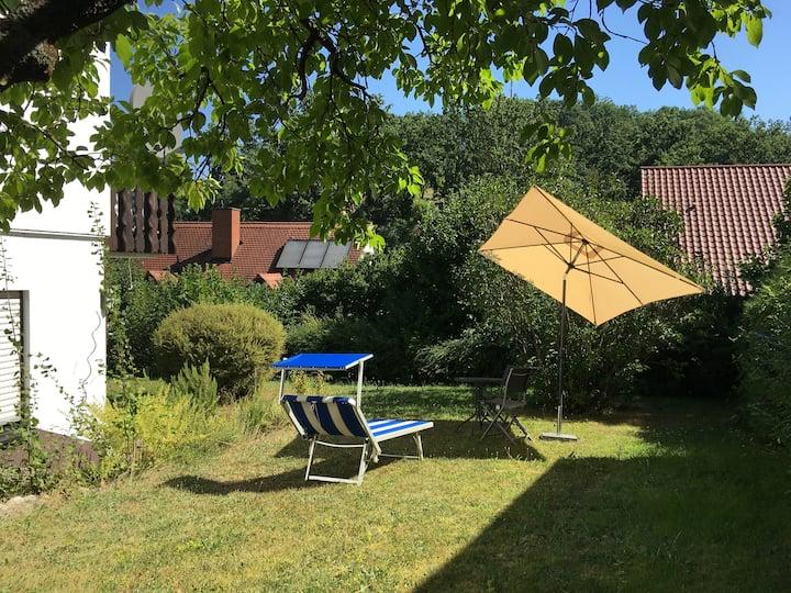 Ferienidyll - Haus mit Garten-  10 min von Bamberg