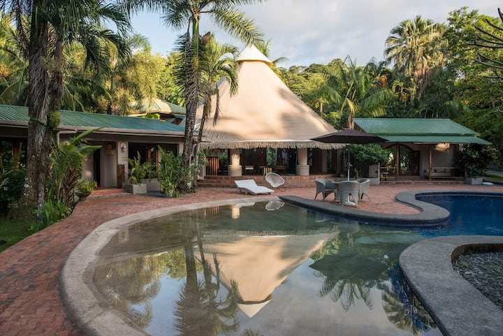 Oceanfront Estate, World-Class Surf, Best Location