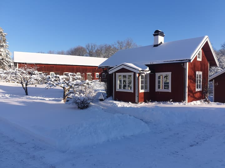 Cabin on a Horse Farm close to Stockholm