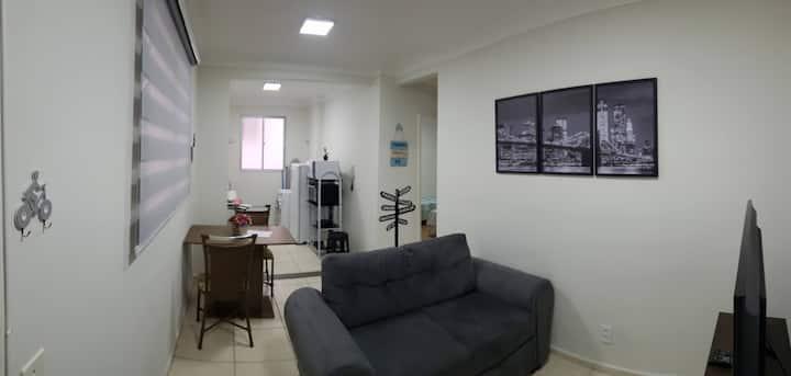Apartamento em Condomínio, Região Central Franca
