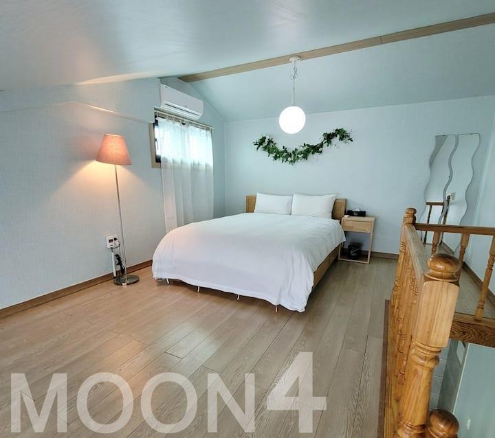 월정리 복층펜션 1,2층 전체 단독사용 moon4 (월정해변 도보 3분)