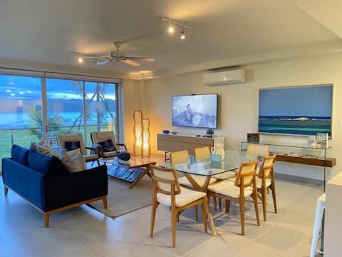 Azuero Lodge: Luxury Beachfront condo- Playa Venao