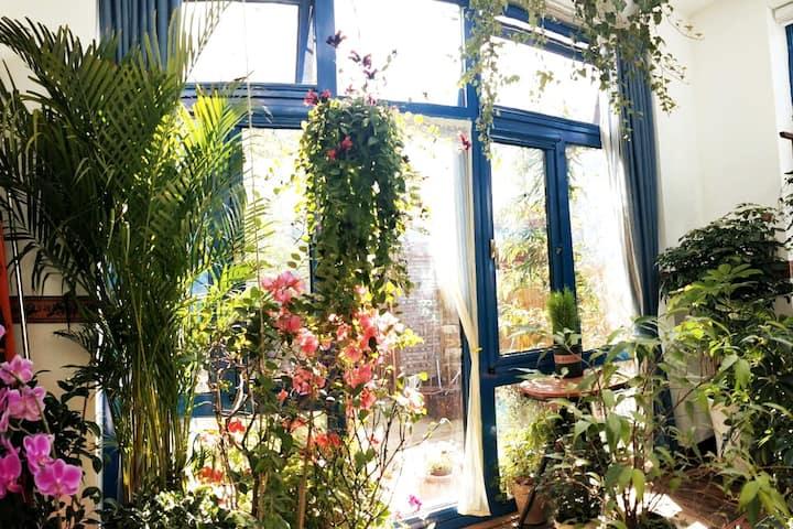 风·顾事小院 地暖+空调,四季如春花房,独栋,分享家(长短租)。临神道十三陵景区、花海、八达岭奥莱等