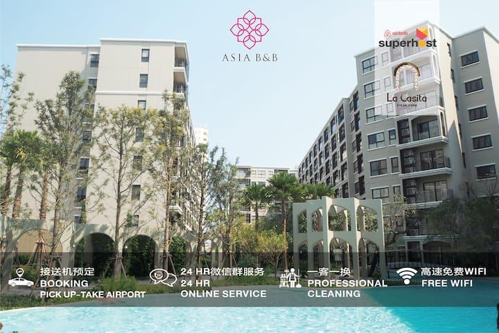 LA23: Huahin/Newroom/Pool&Gym/FreeWifi