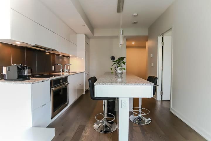 Luxury Downtown 1 Bedroom Condo With Parking!!
