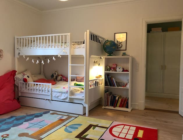 Children Room, 1st. Floor  Bunk Bed measures 90x2 meters. plus and extra pull out bed underneath. so total of beds in this room is 3.